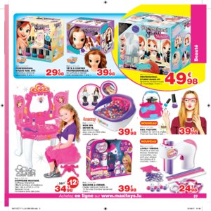 Catalogue Maxi Toys Luxembourg Noël 2017 page 89