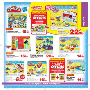 Catalogue Maxi Toys Luxembourg Noël 2017 page 91