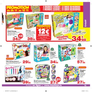 Catalogue Maxi Toys Luxembourg Noël 2017 page 93