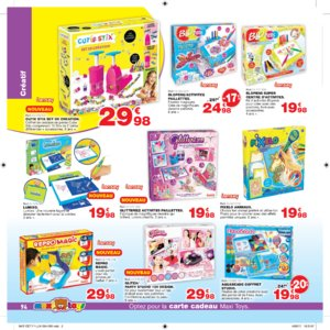 Catalogue Maxi Toys Luxembourg Noël 2017 page 94