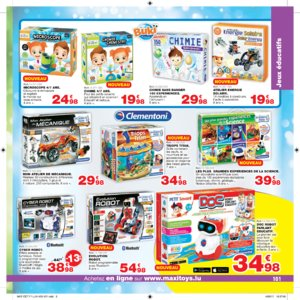 Catalogue Maxi Toys Luxembourg Noël 2017 page 101