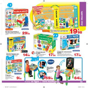 Catalogue Maxi Toys Luxembourg Noël 2017 page 103