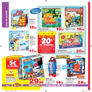 Catalogue Maxi Toys Luxembourg Noël 2017 page 104