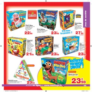 Catalogue Maxi Toys Luxembourg Noël 2017 page 105