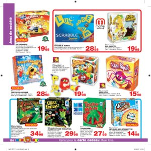 Catalogue Maxi Toys Luxembourg Noël 2017 page 106