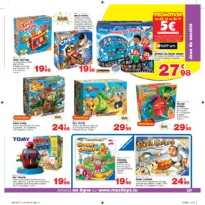 Catalogue Maxi Toys Luxembourg Noël 2017 page 107