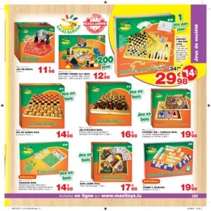 Catalogue Maxi Toys Luxembourg Noël 2017 page 109