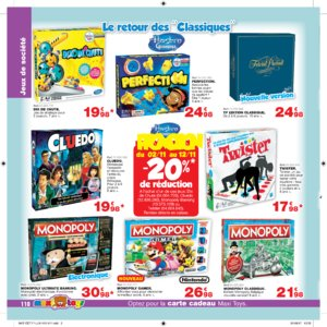 Catalogue Maxi Toys Luxembourg Noël 2017 page 110