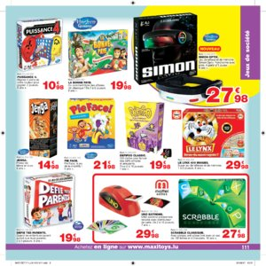 Catalogue Maxi Toys Luxembourg Noël 2017 page 111