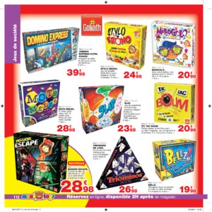 Catalogue Maxi Toys Luxembourg Noël 2017 page 112