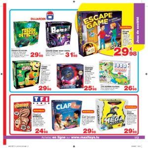 Catalogue Maxi Toys Luxembourg Noël 2017 page 113
