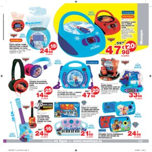 Catalogue Maxi Toys Luxembourg Noël 2017 page 117