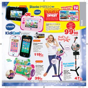 Catalogue Maxi Toys Luxembourg Noël 2017 page 125
