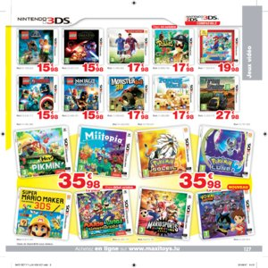 Catalogue Maxi Toys Luxembourg Noël 2017 page 127