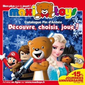 Catalogue Maxi Toys Noël 2015 page 1