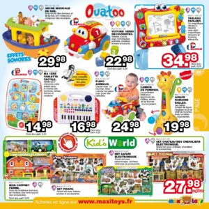 Catalogue Maxi Toys Noël 2015 page 9