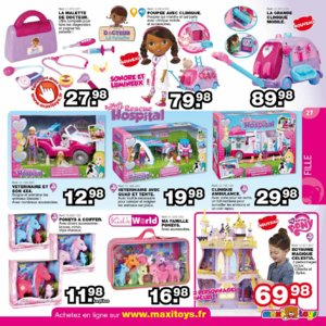 Catalogue Maxi Toys Noël 2015 page 27