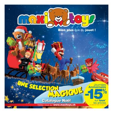 Catalogue Maxi Toys Suisse Noël 2017