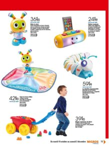 Catalogue Migros France Noël 2016 page 19