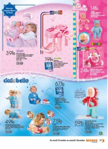 Catalogue Migros France Noël 2016 page 33