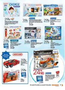 Catalogue Migros France Noël 2016 page 61