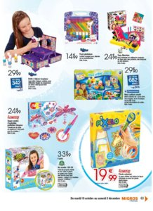 Catalogue Migros France Noël 2016 page 63