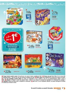 Catalogue Migros France Noël 2016 page 67