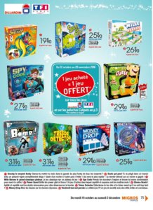 Catalogue Migros France Noël 2016 page 75