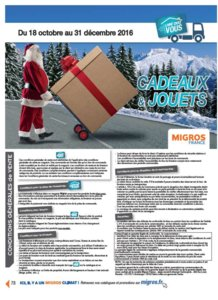 Catalogue Migros France Noël 2016 page 78