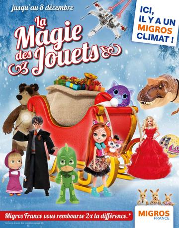 Catalogue Migros Noël 2018