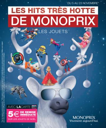 Catalogue Monoprix Noël 2014