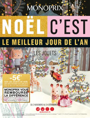 Catalogue Monoprix Noël 2016