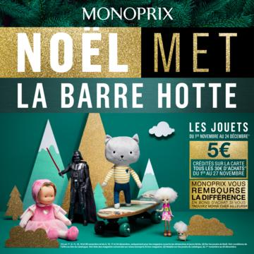 Catalogue Monoprix Noël 2017