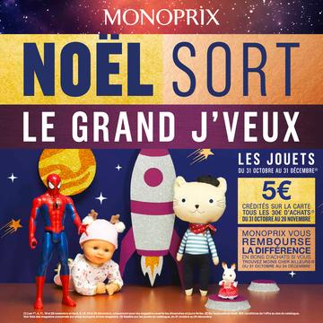 Catalogue Monoprix Noël 2018
