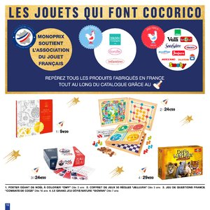 Catalogue Monoprix Noël 2018 page 10