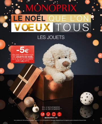 Catalogue Monoprix Noël 2015
