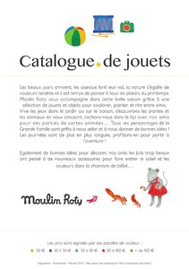 Catalogue Moulin Roty France Printemps 2018 page 2