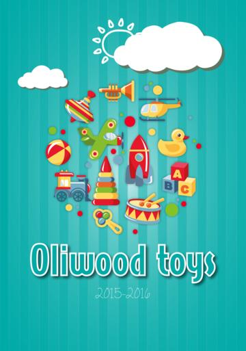 Catalogue Oliwood Toys Belgique 2015-2016