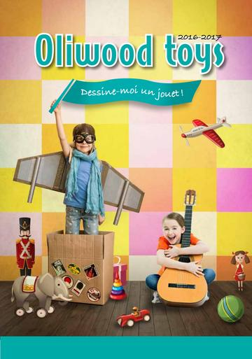 Catalogue Oliwood Toys Belgique 2016-2017
