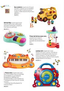 Catalogue Oliwood Toys Belgique 2017-2018 page 14