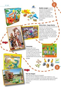 Catalogue Oliwood Toys Belgique 2017-2018 page 54