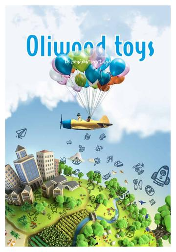 Catalogue Oliwood Toys Belgique 2018-2019