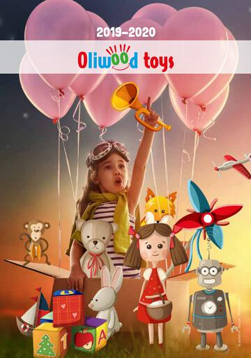 Catalogue Oliwood Toys Belgique 2019-2020