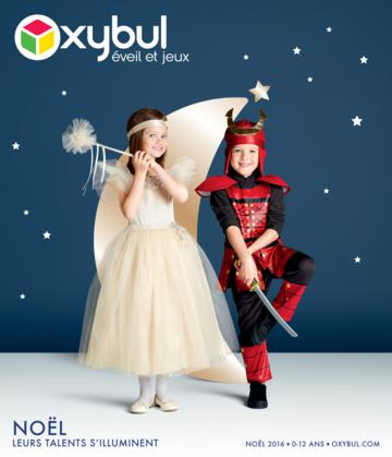 Catalogue Oxybul France Noël 2016