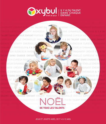 Catalogue Oxybul Noël 2017