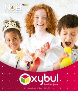 Catalogue Oxybul Noël 2018 page 1