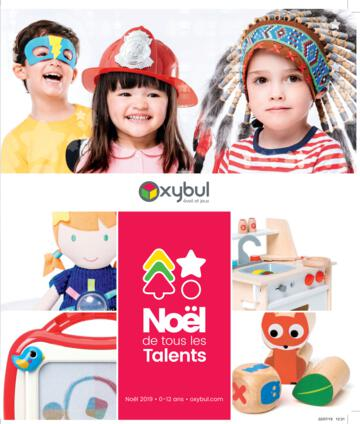 Catalogue Oxybul Noël 2019