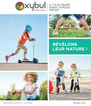 Catalogue Oxybul France printemps-été 2017