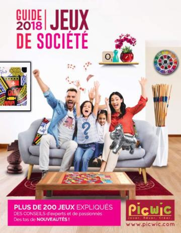 Catalogue Picwic France Guide Des Jeux 2018