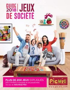 Catalogue Picwic France Guide Des Jeux 2018 page 1